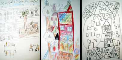 Drawings of Architecture by Children