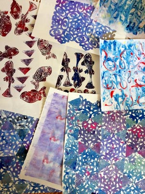 A Collection of Decorated Papers